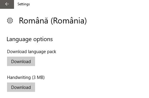 Cum sa schimbam limba sistemului de operare Windows 10