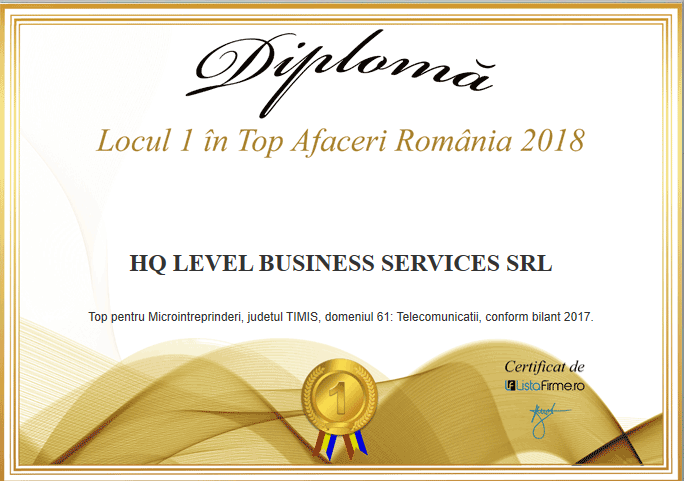 Top Afaceri România 2018