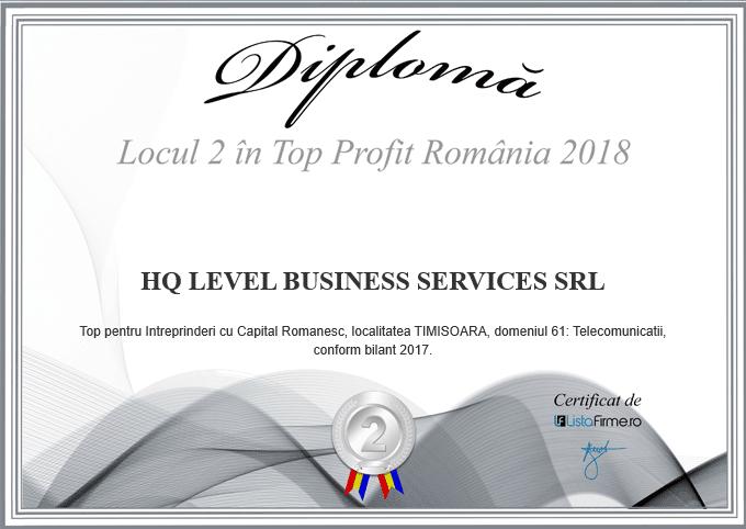 Top  Profit România 2018