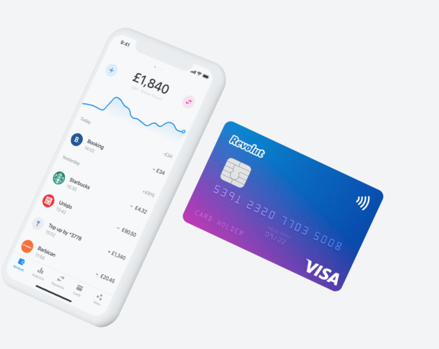 Foloseste Revolut din Apple Pay